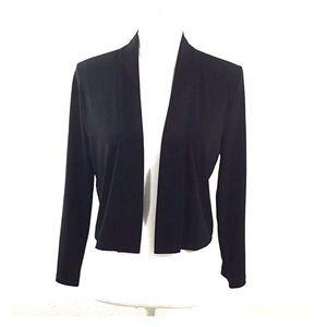 Calvin Klein Black Coverup Jacket Size XL